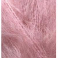 Пряжа Mohair Classic (Мохер классик), ALIZE (Турция), 200м, 100гр, 25% мохер, 24% шерсть, 51% акрил, 32 - Розовая сирень