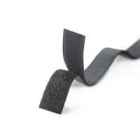 Липучка 50мм (чёрный), 1м