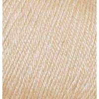 Пряжа Baby Wool (Бэйби Вул), Alize (Турция), 175м, 50гр, 40% шерсть, 20% бамбук, 40% акрил, 310 Медовый