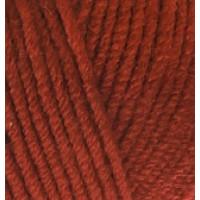 Пряжа LanaGold (Лана голд), ALIZE (Турция), 240м, 100гр, 49% шерсть, 51% акрил - 36 терракот