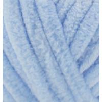 Пряжа VELLUTO (Веллюто), ALIZE (Турция), 68м, 100гр, 100% микрополиэстер, 218 - Голубой