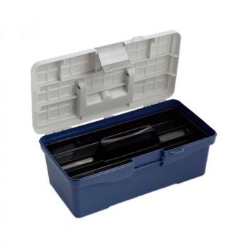 Контейнер для мелочей 35.5х18.8х15 см, цв. синий (R618)