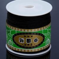 Шнур терилен ШАМБАЛА, толщина 0,8мм, цвет черный, 1м