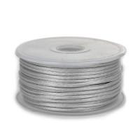 Шнур атласный 2мм - 3108 св. серый, 1м