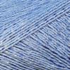 Пряжа Бусинка, КАМТЕКС (Россия), 110м, 50гр, 90% хлопок, 10% вискоза, 015 голубой