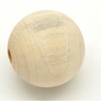 Бусина деревянная 40мм, 1шт