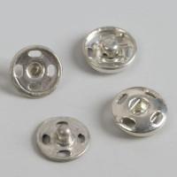 Кнопки пришивные Art Uzor, d = 8 мм, цвет серебряный, 1шт