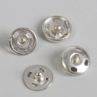 Кнопки пришивные Art Uzor, d = 10 мм, цвет серебряный, 1шт