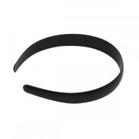 Ободок основа (пластик) 30 мм, цвет черный, 1шт