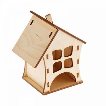 Чайный домик Дом маленький 100х100х140мм, 1 шт.