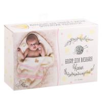 Костюмы для новорожденных Мамина радость, набор для вязания, 21х14х8см