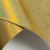 Кожзам 22х30 см текстурный SF-3934, золото, 1 лист