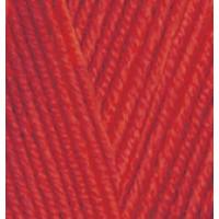 Пряжа Baby Best (Бейби Бест), ALIZE (Турция), 240м, 100гр, 10% бамбук, 90% акрил, 106 - Красный темный