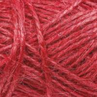 Пряжа Золотое волокно, 50м, 50гр, 100% джут, Красный
