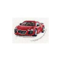 Набор для вышивания Алиса 0-157 Красный спорткар 9 х 6 см