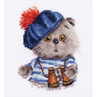 Набор для вышивания Алиса 0-190 Басик моряк 10 х 12 см