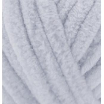 Пряжа VELLUTO (Веллюто), ALIZE (Турция), 68м, 100гр, 100% микрополиэстер, 416 - Серый