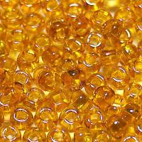 Бисер/Preciosa, 10/0, 50 гр - 81060 оранжевый прозрачный радужный