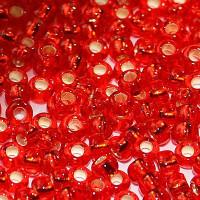 Бисер/Preciosa, 10/0, 50 гр - 97070 красный огонек