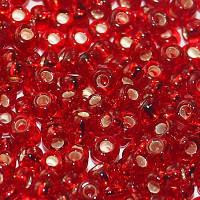 Бисер/Preciosa, 10/0, 50 гр - 97090 т. красный огонек