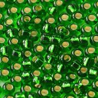 Бисер/Preciosa, 10/0, 50 гр - 57120 зеленый огонек