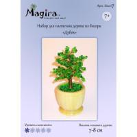 Набор для плетения дерева из бисера - Дубок (7-8 см)