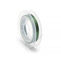 Проволока для бисера стальная Китай 0,3мм 10м (зеленый)