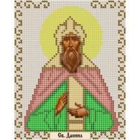 Канва под бисер Матрешкина - Св. князь Даниил Московский, 12х15см