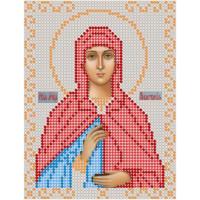 Канва под бисер Матрешкина - Св. мученица Анастасия, 12х15см