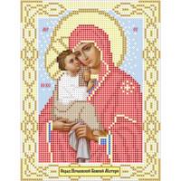 Канва под бисер Матрешкина - Почаевская Божия Матерь, 15х20см
