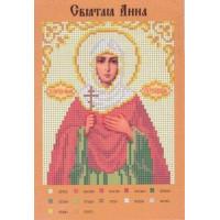 Канва для вышивки бисером Крестомания 022И Святая Анна