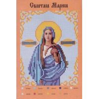 Канва для вышивки бисером Крестомания 039И Святая Мария