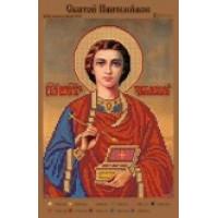 Канва для вышивки бисером Крестомания 106И Святой Пантелеймон