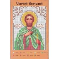 Канва для вышивки бисером Крестомания 035И Святой Анатолий