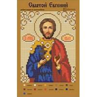 Канва для вышивки бисером Крестомания 091И Святой Евгений