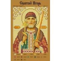 Канва для вышивки бисером Крестомания 081И Святой Игорь