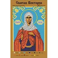 Канва для вышивки бисером Крестомания 086И Святая Виктория