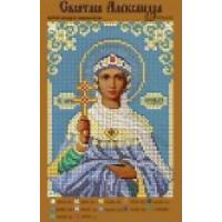 Канва для вышивки бисером Крестомания 095И Святая Александра