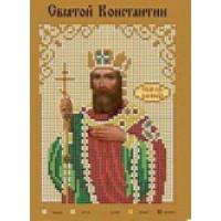 Канва для вышивки бисером Крестомания 055И Святой Константин