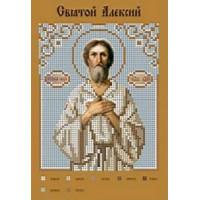 Канва для вышивки бисером Крестомания 059И Святой Алексий