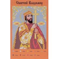 Канва для вышивки бисером Крестомания 021И Святой Владимир