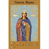 Канва для вышивки бисером Крестомания 066И Святая Марина