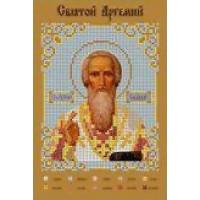 Канва для вышивки бисером Крестомания 076И Святой Артемий
