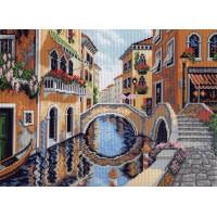 Рисунок на канве 37х49 Матрёнин Посад 0527 На улицах Венеции