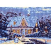 Рисунок на канве 37х49 Матрёнин Посад 0652 Зимняя сказка