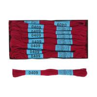 Мулине Гамма 8м 100% егип. хлопок - 0409 бордовый