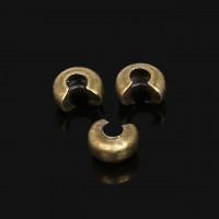 Коверы (кримпковеры) 5х4мм, под бронзу, 20 шт