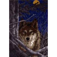 Набор для вышивания нитками Hobby&Pro A602 Волк