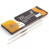 Крючок для вязания 1.75мм - 12см - Maxwell - металлический, 1 шт