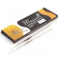 Крючок для вязания 1.0мм - 12см - Maxwell - металлический, 1 шт